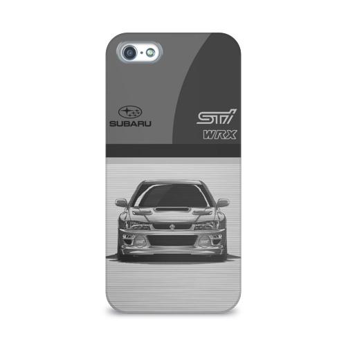 Чехол для Apple iPhone 5/5S 3D  Фото 01, Subaru