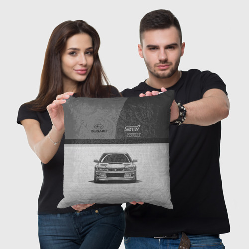 Подушка 3D  Фото 05, Subaru