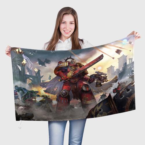 Флаг 3D Warhammer 40000 Фото 01