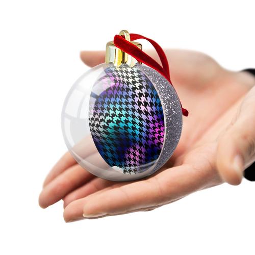 Ёлочный шар с блестками  Фото 03, Волшебство