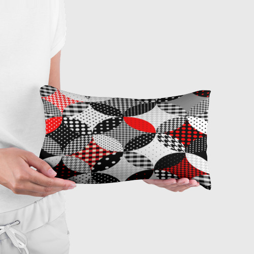 Подушка 3D антистресс  Фото 03, Вышивка стиль геометрия