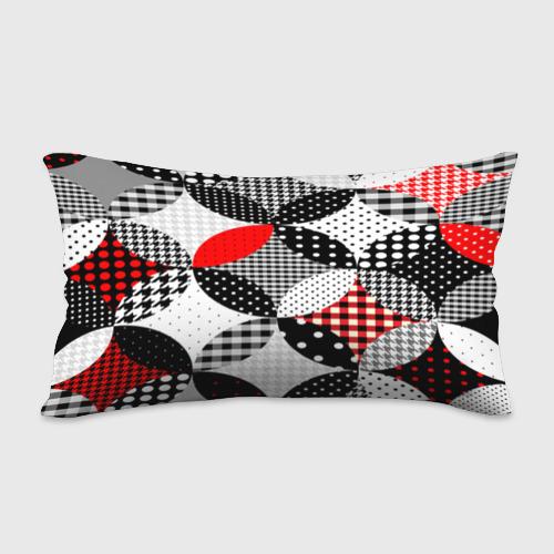 Подушка 3D антистресс  Фото 02, Вышивка стиль геометрия