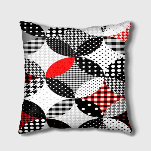 Подушка 3D  Фото 02, Вышивка стиль геометрия