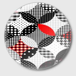 Вышивка стиль геометрия
