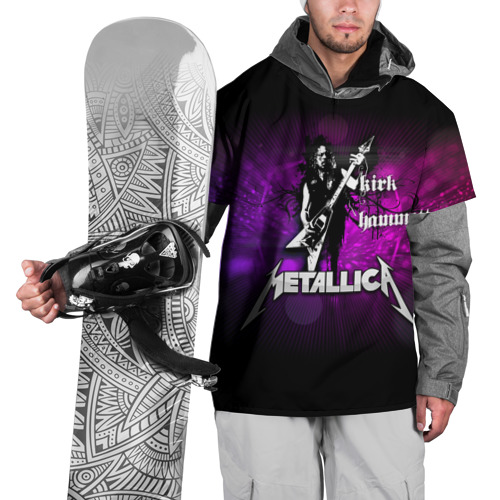 Накидка на куртку 3D  Фото 01, Metallica