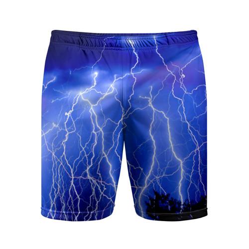 Мужские шорты 3D спортивные  Фото 01, Молнии