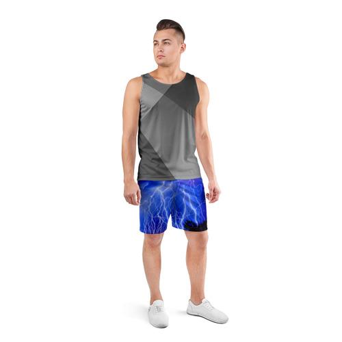 Мужские шорты 3D спортивные  Фото 04, Молнии