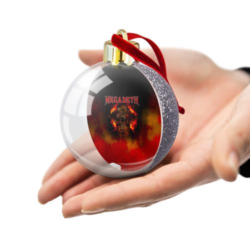 Ёлочный шар с блестками  Фото 03, Megadeth