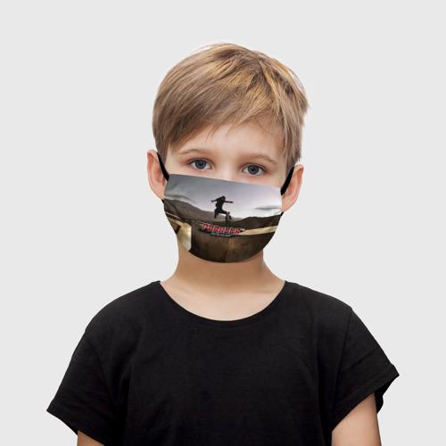 Детская маска (+5 фильтров) parkour Фото 01