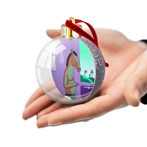 Ёлочный шар с блестками  Фото 03, BoJack