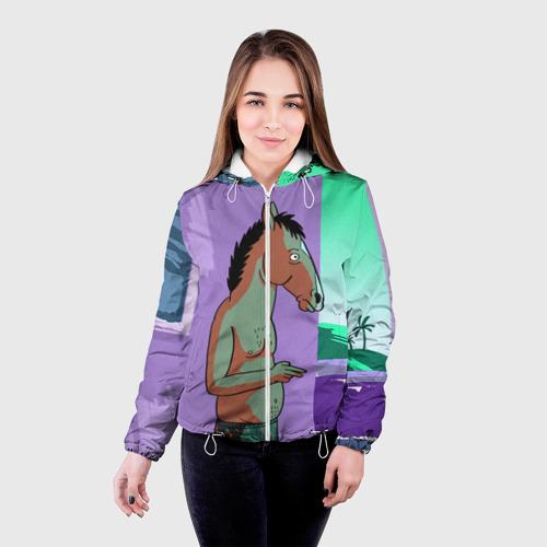 Женская куртка 3D  Фото 03, BoJack