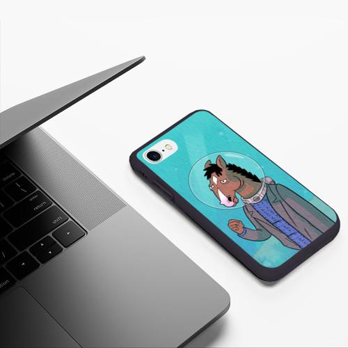 Чехол для iPhone 7/8 матовый BoJack Фото 01