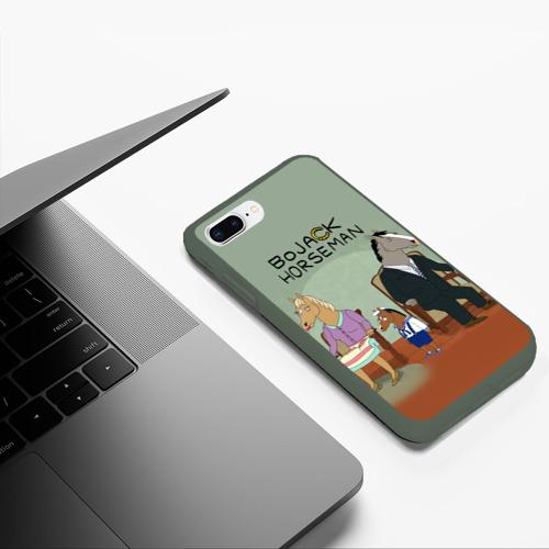 Чехол для iPhone 7Plus/8 Plus матовый BoJack Фото 01