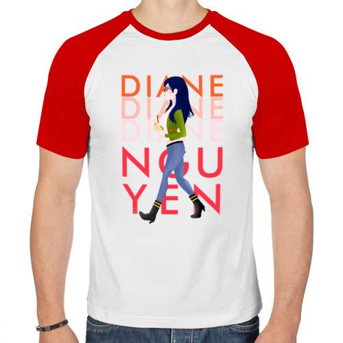 Мужская футболка реглан  Фото 01, Diane Nguyen