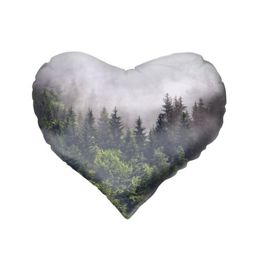 Подушка 3D сердце  Фото 02, Forest