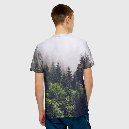 Мужская футболка 3D Forest