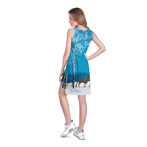 Платье-майка 3D  Фото 04, Зимний пейзаж