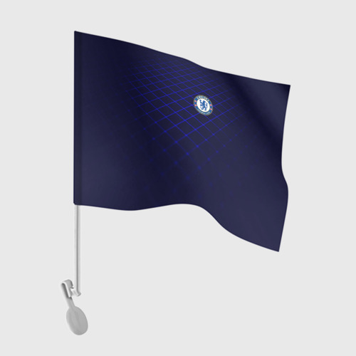 Флаг для автомобиля Chelsea 2018  Uniform Фото 01
