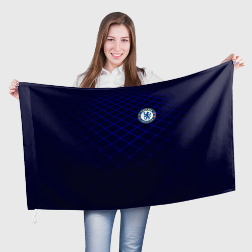 Флаг 3D Chelsea 2018  Uniform Фото 01