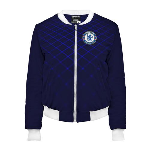 Женский бомбер 3D Chelsea 2018  Uniform Фото 01