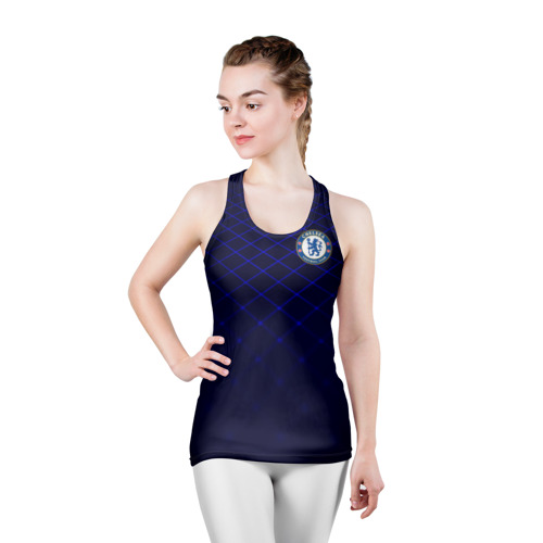 Женская майка 3D спортивная Chelsea 2018  Uniform Фото 01