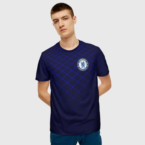 Мужская футболка 3D Chelsea 2018  Uniform Фото 01