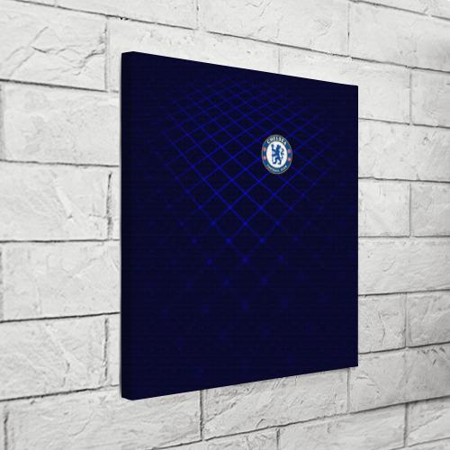 Холст квадратный Chelsea 2018  Uniform Фото 01
