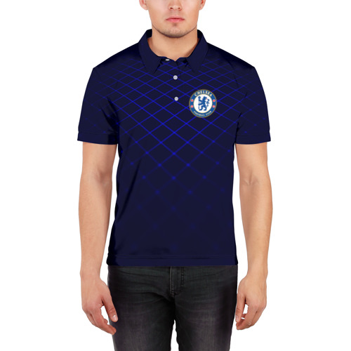 Мужская рубашка поло 3D Chelsea 2018  Uniform Фото 01