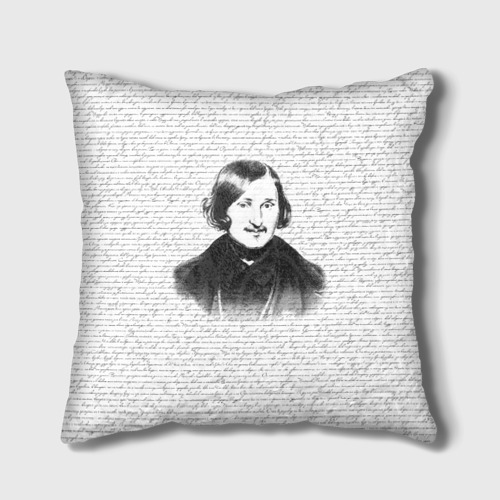 Подушка 3D  Фото 01, Гоголь