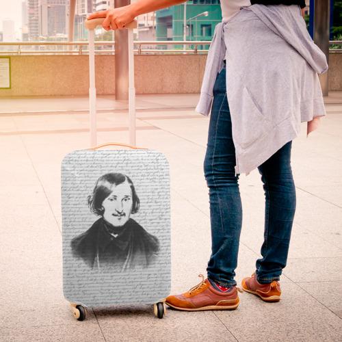 Чехол для чемодана 3D  Фото 04, Гоголь
