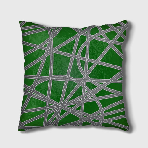Подушка 3D  Фото 02, Ленивец на дороге