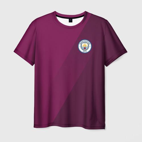 Мужская футболка 3D  Фото 01, Manchester city 2018 Элита