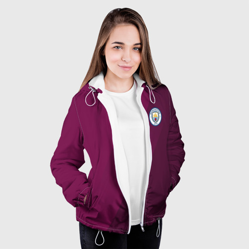 Женская куртка 3D  Фото 04, Manchester city 2018 Элита