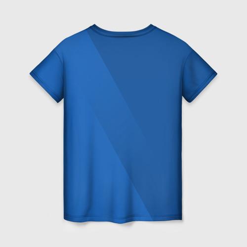 Женская футболка 3D Chelsea  2018 Элитная форма Фото 01