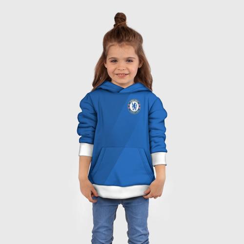 Детская толстовка 3D Chelsea  2018 Элитная форма Фото 01