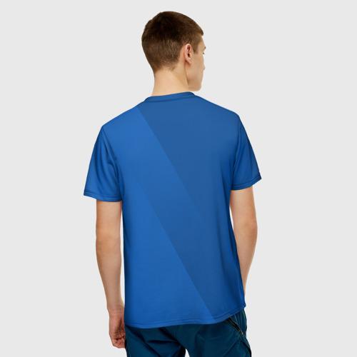 Мужская футболка 3D Chelsea  2018 Элитная форма Фото 01