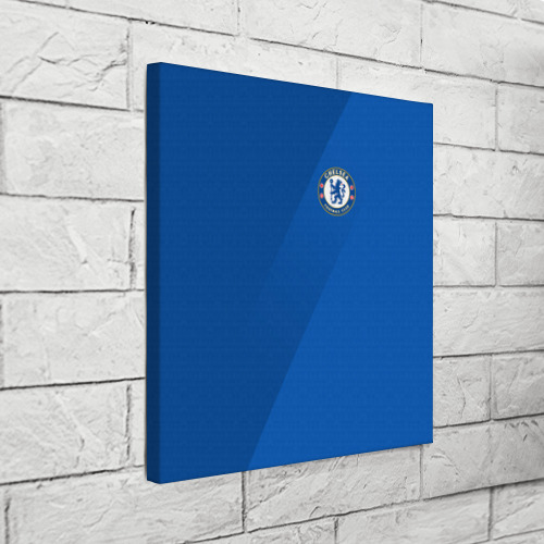 Холст квадратный Chelsea  2018 Элитная форма Фото 01