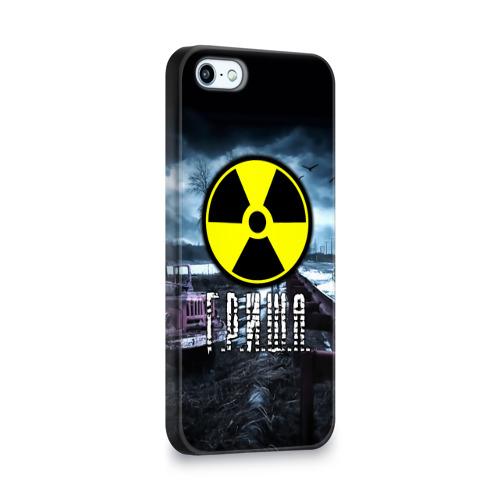 Чехол для Apple iPhone 5/5S 3D  Фото 02, S.T.A.L.K.E.R. - Г.Р.И.Ш.А.