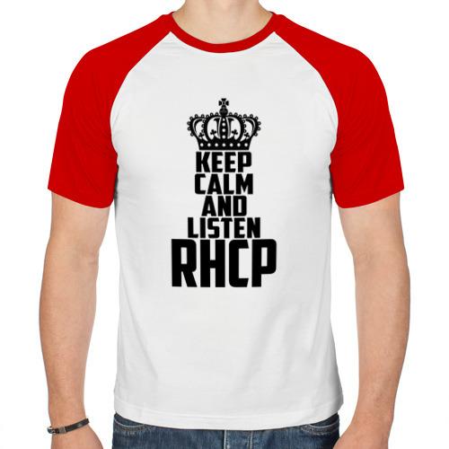 Мужская футболка реглан  Фото 01, Keep calm and listen RHCP