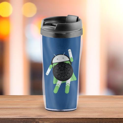 Термокружка-непроливайка  Фото 03, Android Oreo
