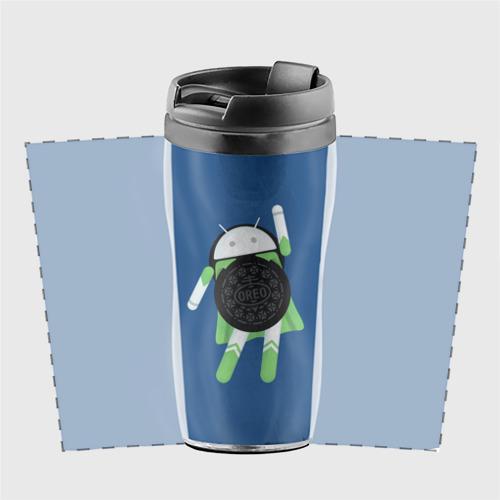 Термокружка-непроливайка  Фото 02, Android Oreo