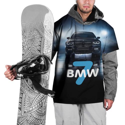 Накидка на куртку 3D  Фото 01, BMW 7 series