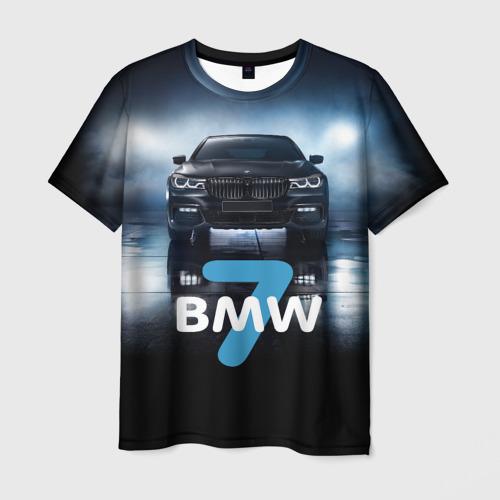 Мужская футболка 3D  Фото 03, BMW 7 series
