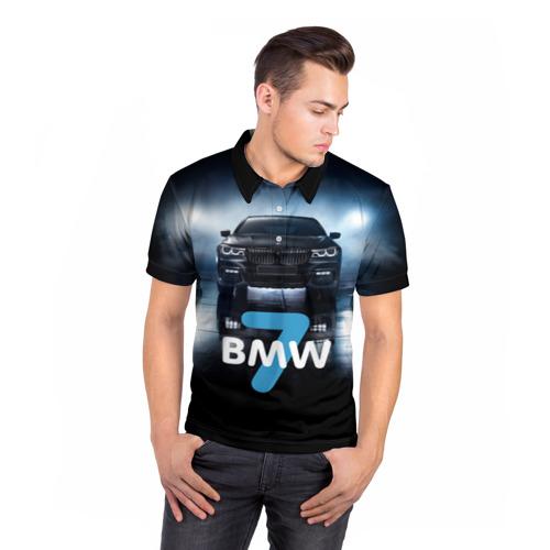 Мужская рубашка поло 3D  Фото 05, BMW 7 series