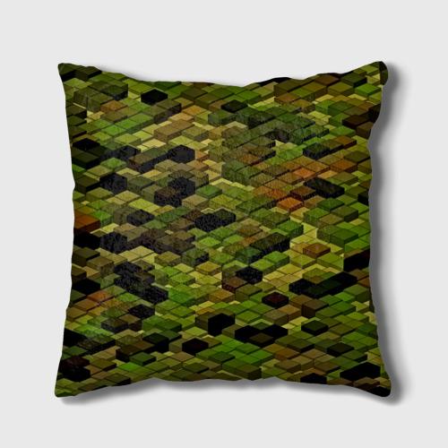 Подушка 3D  Фото 02, block camouflage