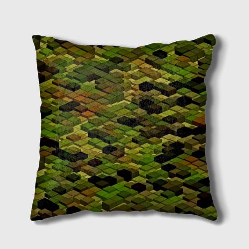 Подушка 3D  Фото 01, block camouflage