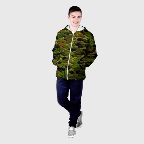 Мужская куртка 3D  Фото 03, block camouflage