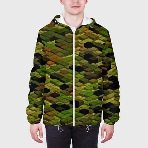Мужская куртка 3D  Фото 04, block camouflage