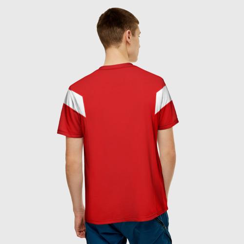 Мужская футболка 3D Сборная СССР 1988 Фото 01