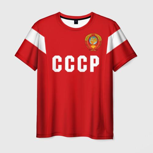 Мужская футболка 3D 'Сборная СССР 1988'